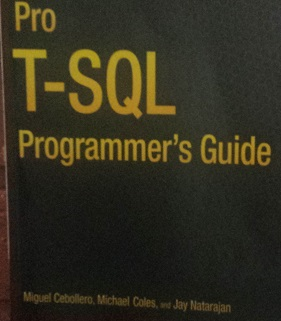 Pro T-SQL Programmers Guide